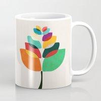 lotus flower Mugs featuring Lotus flower by Picomodi