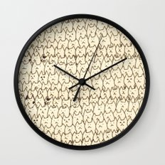 cat-8 Wall Clock