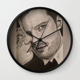 """No more secrets"" FiftyShades Darker Wall Clock"