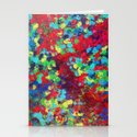 POND IN PIGMENT - Bright Bold Neon Abstract Acylic Floral Aquatic Painting Dots Pattern Trendy Gift  by ebiemporium