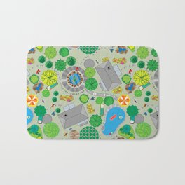 In the neighborhood Bath Mat