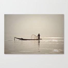 Inle Lake Myanmar Canvas Print
