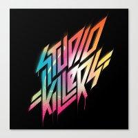 studio killers Canvas Prints featuring Studio Killers by STUDIOKILLERS