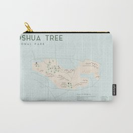 Joshua Tree Map Carry-All Pouch