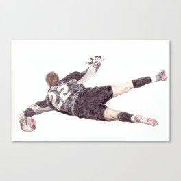 David Marshall vs Barcelona Canvas Print