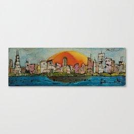 Color Me Chicago Canvas Print