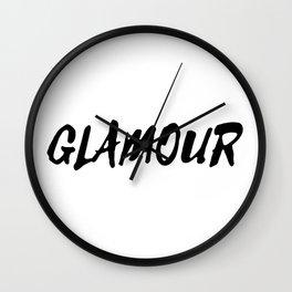 GLAMOUR Wall Clock
