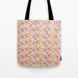 Simple Flower Pattern Tote Bag