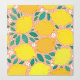 Meyer Lemons Canvas Print