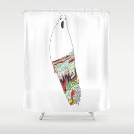 Fractal Phantom Shower Curtain