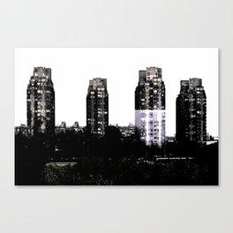 Modern Buildings in Belgrade Canvas Print