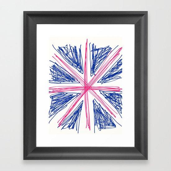 UK Framed Art Print