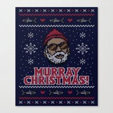 Murray Christmas! Canvas Print
