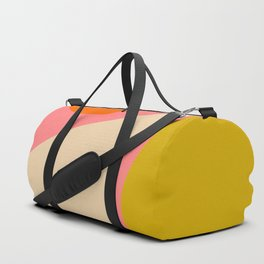 abstract composition modern blush pink Duffle Bag
