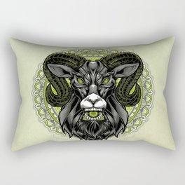 Sacram - Sacred Ram Rectangular Pillow