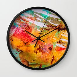 Minh Ly Dumpstered Wall Clock