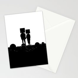 I have you. You have me. - US AND THEM Stationery Cards