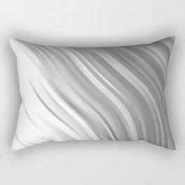 stripes wave pattern 1 bwip Rectangular Pillow