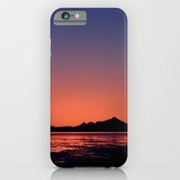Mt._Iliamna Winter Sunset iPhone Case