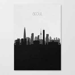 City Skylines: Seoul Canvas Print
