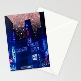 Seoul Meteor Shower  Stationery Cards