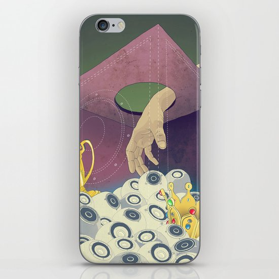 Looking  for the perfect beat iPhone & iPod Skin