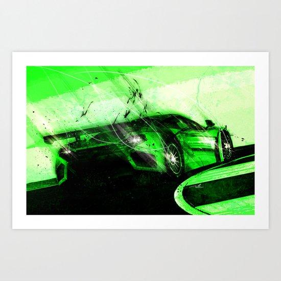 Dream Car #4 Art Print
