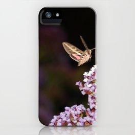 Hummingbird Hawk Moth iPhone Case