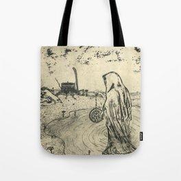 Illusions of Myth (Teeth) Tote Bag