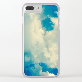Just Be Happy Photography Clear iPhone Case