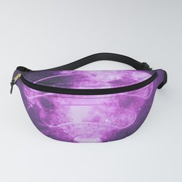 Wi Fi sign. Wi-Fi symbol. Abstract night sky background Fanny Pack