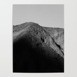 mountain shadow Poster