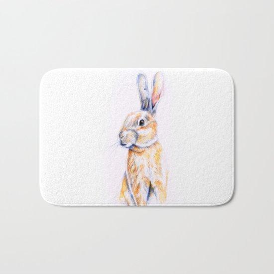 Rabbit Bath Mat