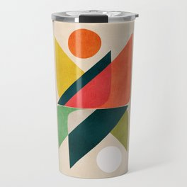 Reflection (of time and space) Travel Mug