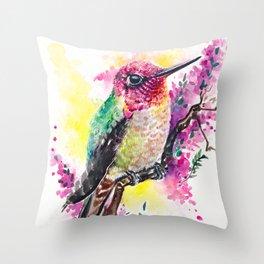 My Little Garden II Throw Pillow