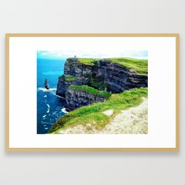 Cliffs of Moher 2 Framed Art Print