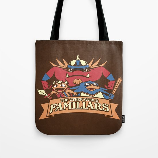 The Other World Familiars Tote Bag