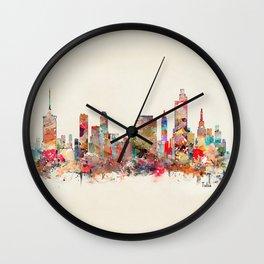 tulsa oklahoma Wall Clock
