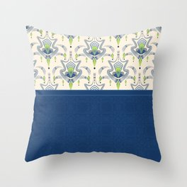 The combined pattern . Throw Pillow