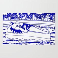 Pool Time Unicorn V2 Rug