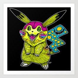 Go Monster Art Print