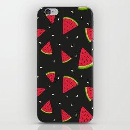 Watermelons in tha dark iPhone Skin