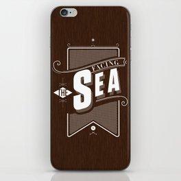 Facing The Sea iPhone Skin