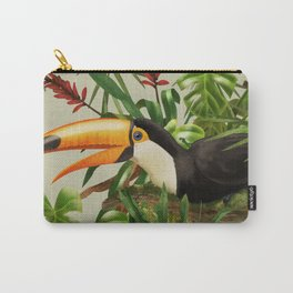 Toco Toucan vintage illustration. Carry-All Pouch