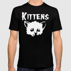Goth Kittens 2X-LARGE Black Mens Fitted Tee