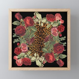 Ring Around the Leopard Framed Mini Art Print