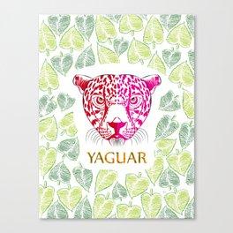 Yaguar Canvas Print