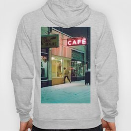 Silver Grill Cafe,Vancounver at 6am - 1975 Hoody
