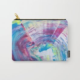 Neon Wave Carry-All Pouch