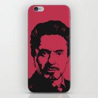 robert downey jr iPhone & iPod Skins featuring Robert Downey Jr. by ArDem